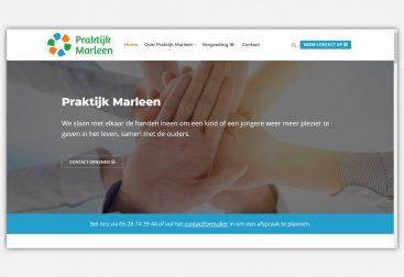 Website praktijkmarleen.nl