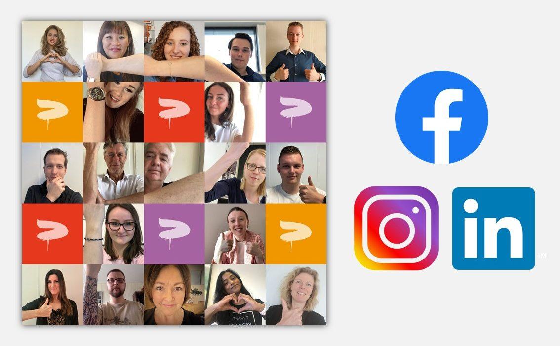 Social media PanArt